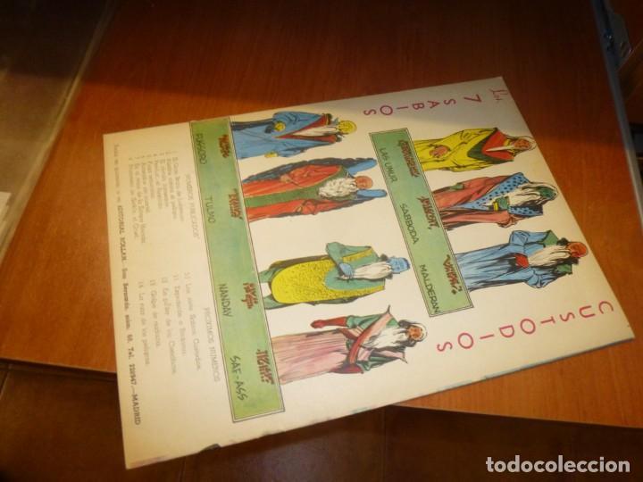 Tebeos: rock vanguard nº 10, los siete sabios custodios, de imprenta , completamente nuevo - Foto 3 - 137908290