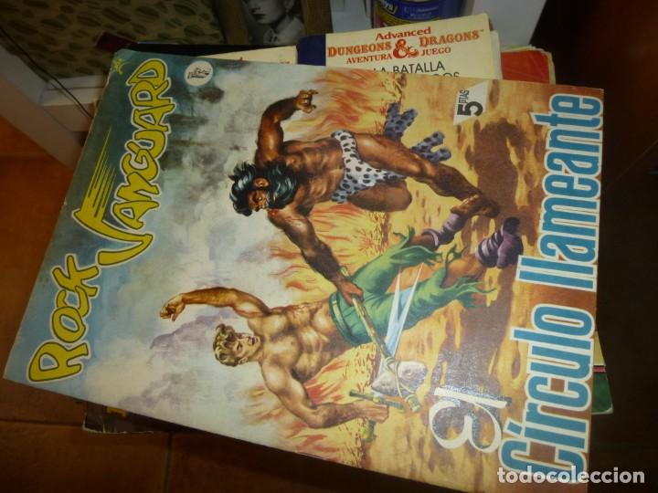 ROCK VANGUARD Nº 3, EL CIRCULO LLAMEANTE, DE IMPRENTA , COMPLETAMENTE NUEVO (Tebeos y Comics - Rollán - Rock Vanguard)