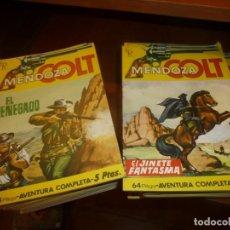 Tebeos: MENDOZA COLT, NOVELITAS GRAFICAS DE 1964, LEER DESCRIPCION DE NUMEROS, NUEVAS DE IMPRENTA. Lote 138075062