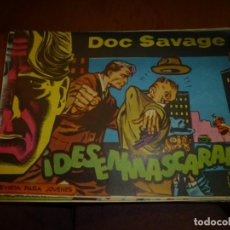 Tebeos: DOC SAVAGE Nº 9 ,APAISADO DE ED. ROLLAN 1961, MUY BIEN CONSERVADO. Lote 139354986