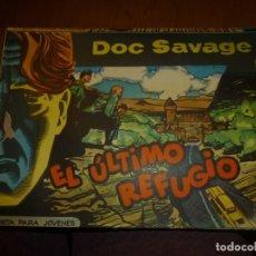 Tebeos: DOC SAVAGE Nº 14 ,APAISADO DE ED. ROLLAN 1961, MUY BIEN CONSERVADO. Lote 138147510