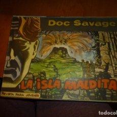 Tebeos: DOC SAVAGE Nº 15 ,APAISADO DE ED. ROLLAN 1961, MUY BIEN CONSERVADO. Lote 138147926