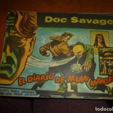 Tebeos: DOC SAVAGE Nº 16 ,APAISADO DE ED. ROLLAN 1961. Lote 138148170