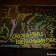 Tebeos: DOC SAVAGE Nº 17 ,APAISADO DE ED. ROLLAN 1961, MUY BIEN CONSERVADO. Lote 138148390