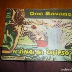 Tebeos: DOC SAVAGE Nº 19 ,APAISADO DE ED. ROLLAN 1961, MUY BIEN CONSERVADO. Lote 138149066