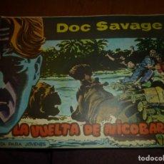 Tebeos: DOC SAVAGE Nº 20 ,APAISADO DE ED. ROLLAN 1961, MUY BIEN CONSERVADO. Lote 138267058