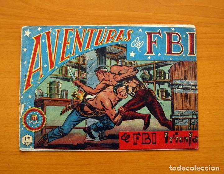 AVENTURAS DEL FBI - Nº 13, EL FBI TRIUNFA - EDITORIAL ROLLÁN 1951 (Tebeos y Comics - Rollán - FBI)