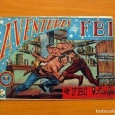 Tebeos: AVENTURAS DEL FBI - Nº 13, EL FBI TRIUNFA - EDITORIAL ROLLÁN 1951. Lote 139495974