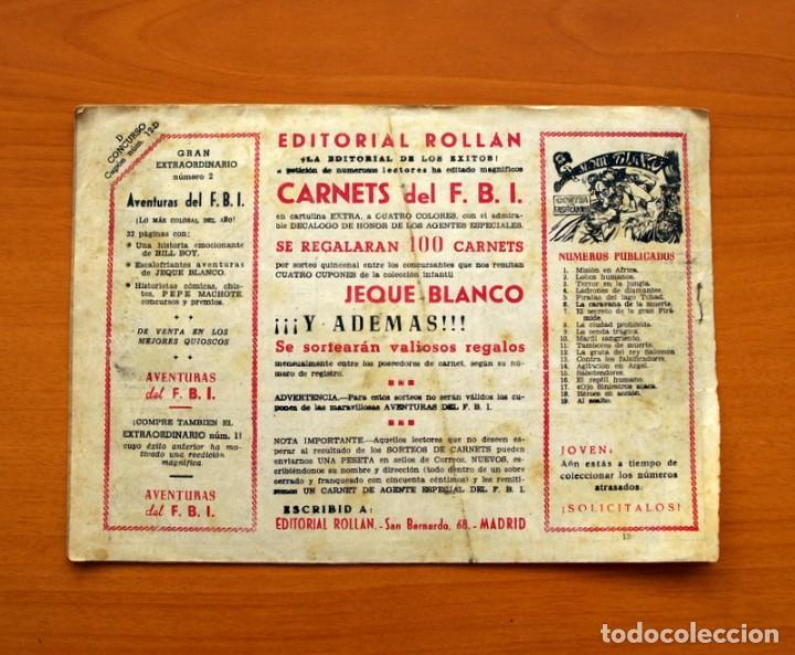 Tebeos: Aventuras del FBI - Nº 13, El FBI triunfa - Editorial Rollán 1951 - Foto 7 - 139495974