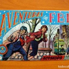 Tebeos: AVENTURAS DEL FBI - Nº 30, ACOSADOS - EDITORIAL ROLLÁN 1951 . Lote 139497714