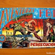 Tebeos: AVENTURAS DEL FBI - Nº 34, PERSECUCIÓN - EDITORIAL ROLLÁN 1951 . Lote 139497958