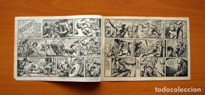 Tebeos: Aventuras del FBI - Nº 34, Persecución - Editorial Rollán 1951 - Foto 2 - 139497958