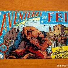 Tebeos: AVENTURAS DEL FBI - Nº 36, LOS DEMONIOS ROJOS - EDITORIAL ROLLÁN 1951 . Lote 139498138