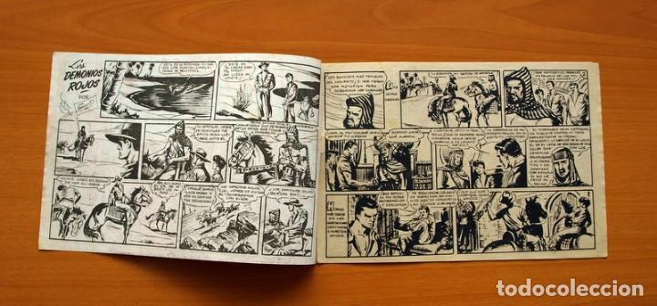 Tebeos: Aventuras del FBI - Nº 36, Los Demonios Rojos - Editorial Rollán 1951 - Foto 2 - 139498138