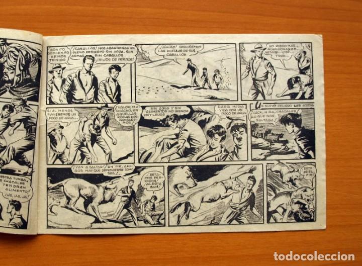 Tebeos: Aventuras del FBI - Nº 36, Los Demonios Rojos - Editorial Rollán 1951 - Foto 3 - 139498138