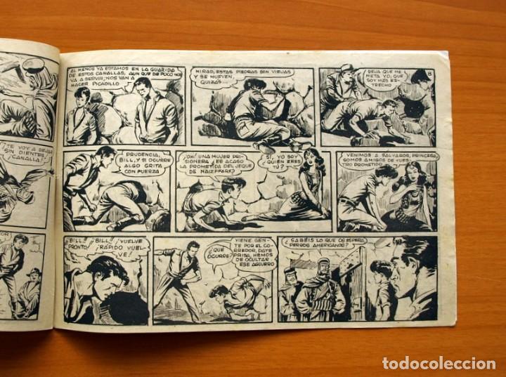 Tebeos: Aventuras del FBI - Nº 36, Los Demonios Rojos - Editorial Rollán 1951 - Foto 5 - 139498138