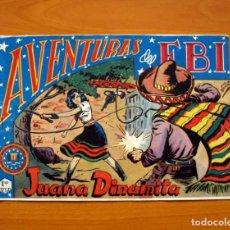 Livros de Banda Desenhada: AVENTURAS DEL FBI - Nº 40, JUANA DINÁMICA - EDITORIAL ROLLÁN 1951 . Lote 139498762