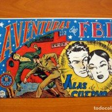 Tebeos: AVENTURAS DEL FBI - Nº 41, ALAS DE CUERVO - EDITORIAL ROLLÁN 1951 . Lote 139498882