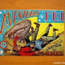 Tebeos: AVENTURAS DEL FBI - Nº 58, LA JUSTICIA DEL DESIERTO - EDITORIAL ROLLÁN 1951 . Lote 139501914