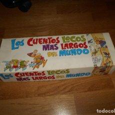 Tebeos: LOS CUENTOS LOCOS MAS LARGOS DEL MUNDO. LA ESCALADA. EDITORIAL ROLLAN, AÑOS 70 COMPLETO MUY RARO. Lote 139651026