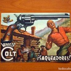 Tebeos: MENDOZA COLT - Nº 14, SAQUEADORES - EDITORIAL ROLLÁN 1955. Lote 139846994