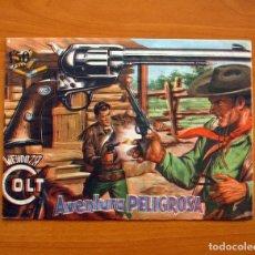 Tebeos: MENDOZA COLT - Nº 18, AVENTURA PELIGROSA - EDITORIAL ROLLÁN 1955. Lote 139848886