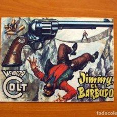Tebeos: MENDOZA COLT - Nº 74, JIMMY EL BARBUDO - EDITORIAL ROLLÁN 1955. Lote 139866762