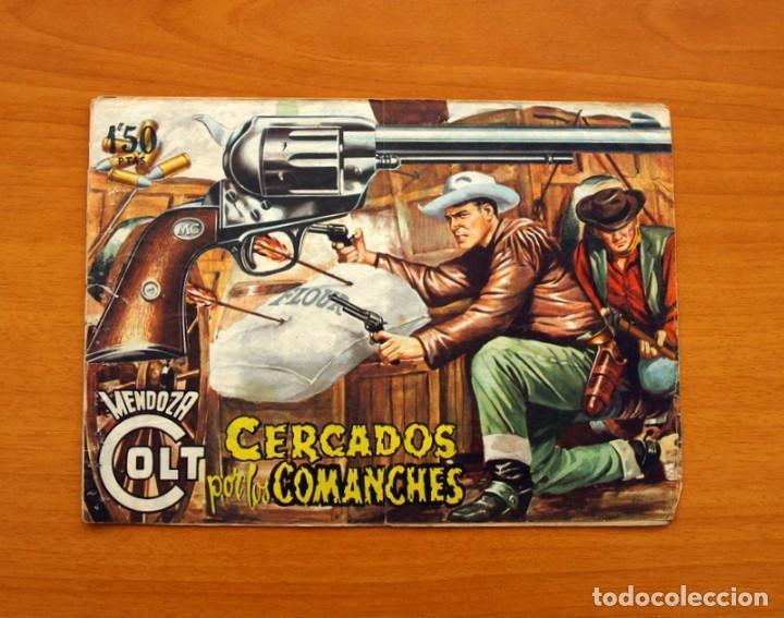 MENDOZA COLT - Nº 20, CERCADOS POR LOS COMANCHES - EDITORIAL ROLLÁN 1955 (Tebeos y Comics - Rollán - Mendoza Colt)