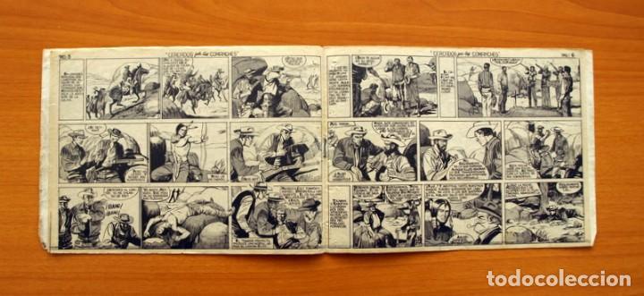 Tebeos: Mendoza Colt - Nº 20, Cercados por los Comanches - Editorial Rollán 1955 - Foto 5 - 139929522
