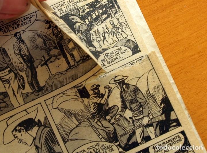 Tebeos: Mendoza Colt - Nº 20, Cercados por los Comanches - Editorial Rollán 1955 - Foto 6 - 139929522