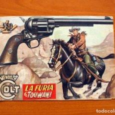 Tebeos: MENDOZA COLT - Nº 31, LA FURIA DE TOUWANI - EDITORIAL ROLLÁN 1955. Lote 139929758