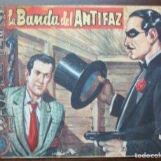 Tebeos: AVENTURAS DEL FBI. LA BANDA DEL ANTIFAZ. Nº 211, AÑO 1959. Lote 140281446