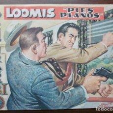 Tebeos: AVENTURAS DEL FBI. LOOMIS (PIES PLANOS). Nº 180, AÑO 1958. Lote 140282162