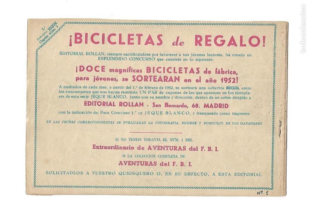 Tebeos: Jeque Blanco Año 1951 Colección Completa son 137 Tebeos y 4 Extraordinari Originales Dibujos Armando - Foto 16 - 140825438