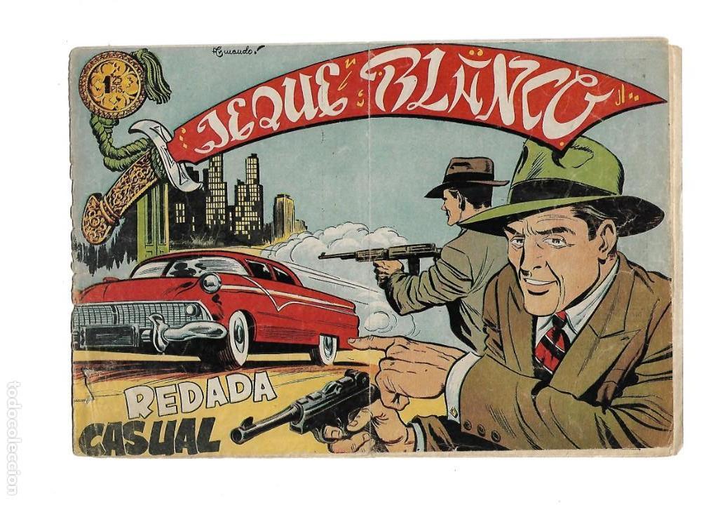 Tebeos: Jeque Blanco Año 1951 Colección Completa son 137 Tebeos y 4 Extraordinari Originales Dibujos Armando - Foto 17 - 140825438