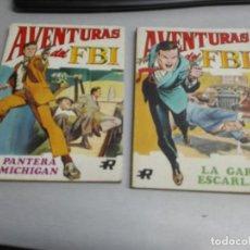 Tebeos: AVENTURAS DEL FBI / NÚMEROS: 1 Y 2 / TACO - EDITORIAL ROLLÁN 1974 + REGALO. Lote 141220990