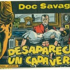 Tebeos: DOC SAVAGE DE EDITORIAL ROLLAN ORIGINAL Y COMPLETA 26 EJEMPLARES. Lote 141285862