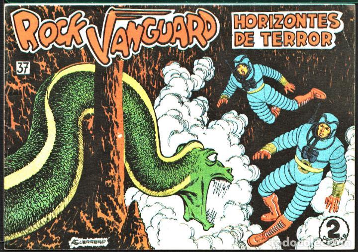 TEBEOS-COMICS CANDY - ROCK VANGUARD - 37 - - ROLLAN - RARO *AA99 (Tebeos y Comics - Rollán - Rock Vanguard)