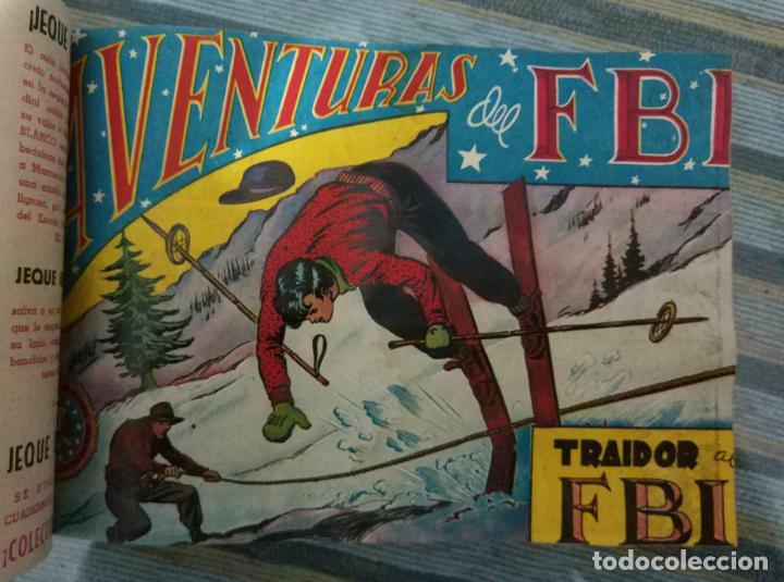 Tebeos: AVENTURAS DEL FBI Nº 1 A 214 + DIEGO VALOR 2ª (CASI COMPLETA) (ROLLAN 1951 Y CID 1957) -ORIGINALES - - Foto 5 - 141827798