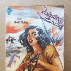 Tebeos: LIBRO NOVELA PALESTINA EN LLAMAS - FRANK MC FAIR - COLECCION FBI Nº 39 EDITORIAL ROLLAN. Lote 142142902