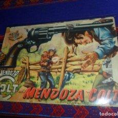 Tebeos: MENDOZA COLT ORIGINAL Nº 1. ROLLÁN 1955. 1,50 PTS. . Lote 142486726