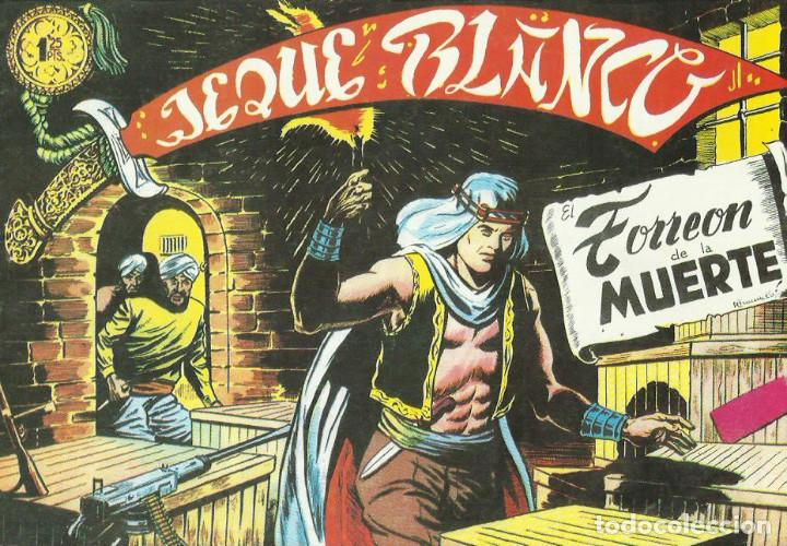 EL JEQUE BLANCO-REEDICION --LOTE DE 21 NUMEROS 1 -21- 53 - 59 -73 Y DEL NUMERO 89 AL NUMERO 104 (Tebeos y Comics - Rollán - Jeque Blanco)