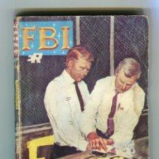 Tebeos: FBI DONALD CURTIS ESCORPION EDITORIAL ROLLAN S.A. AÑO 1969. Lote 143365290
