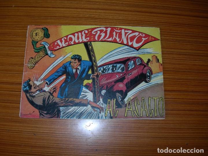 EL JEQUE BLANCO Nº 19 EDITA ROLLAN (Tebeos y Comics - Rollán - Jeque Blanco)