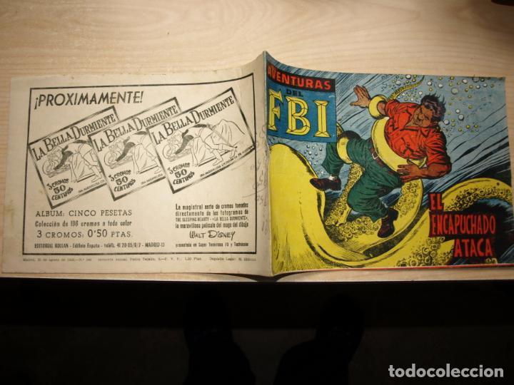 AVENTURAS DEL FBI - NÚMERO 246 - ORIGINAL - ROLLAN (Tebeos y Comics - Rollán - FBI)