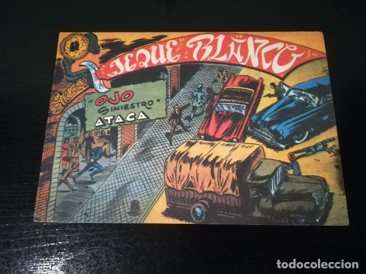 TEBEO DEL JEQUE BLANCO,NUMERO 17 EDITORIAL ROLLAN. (Tebeos y Comics - Rollán - Jeque Blanco)