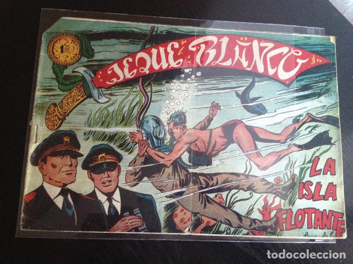 Nº37 LA ISLA FOTANTE (Tebeos y Comics - Rollán - Jeque Blanco)