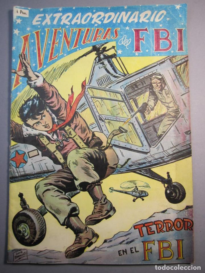 FBI, AVENTURAS DEL (1951, ROLLAN) EXTRA 5 · XII-1955 · EXTRAORDINARIO. TERROR EN EL FBI (Tebeos y Comics - Rollán - FBI)