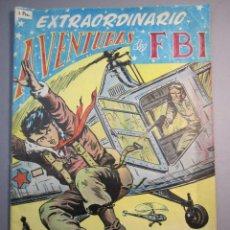 Tebeos: FBI, AVENTURAS DEL (1951, ROLLAN) EXTRA 5 · XII-1955 · EXTRAORDINARIO. TERROR EN EL FBI. Lote 145843098
