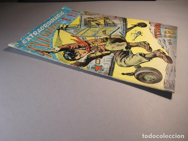 Tebeos: FBI, AVENTURAS DEL (1951, ROLLAN) EXTRA 5 · XII-1955 · EXTRAORDINARIO. TERROR EN EL FBI - Foto 3 - 145843098